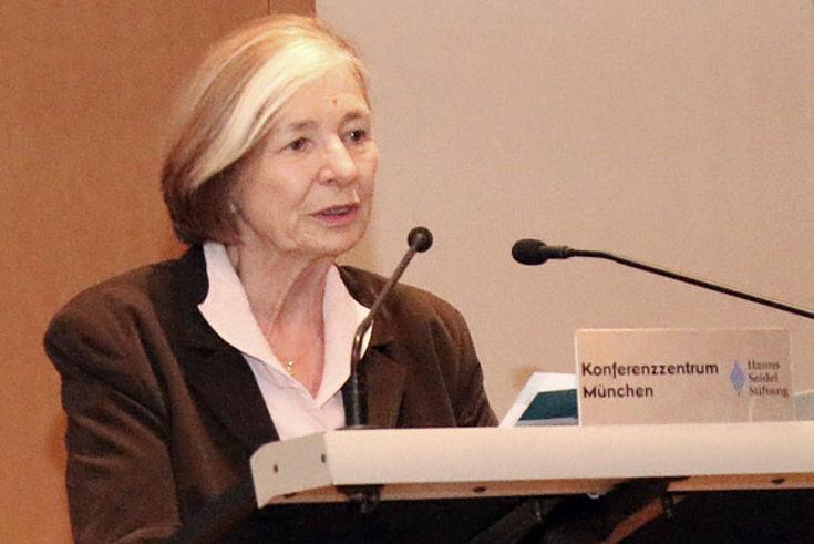 Stiftungsvorsitzende Ursula Männle