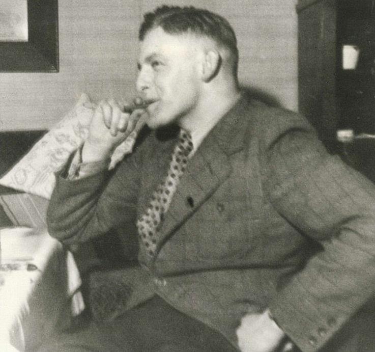 Student um 1940