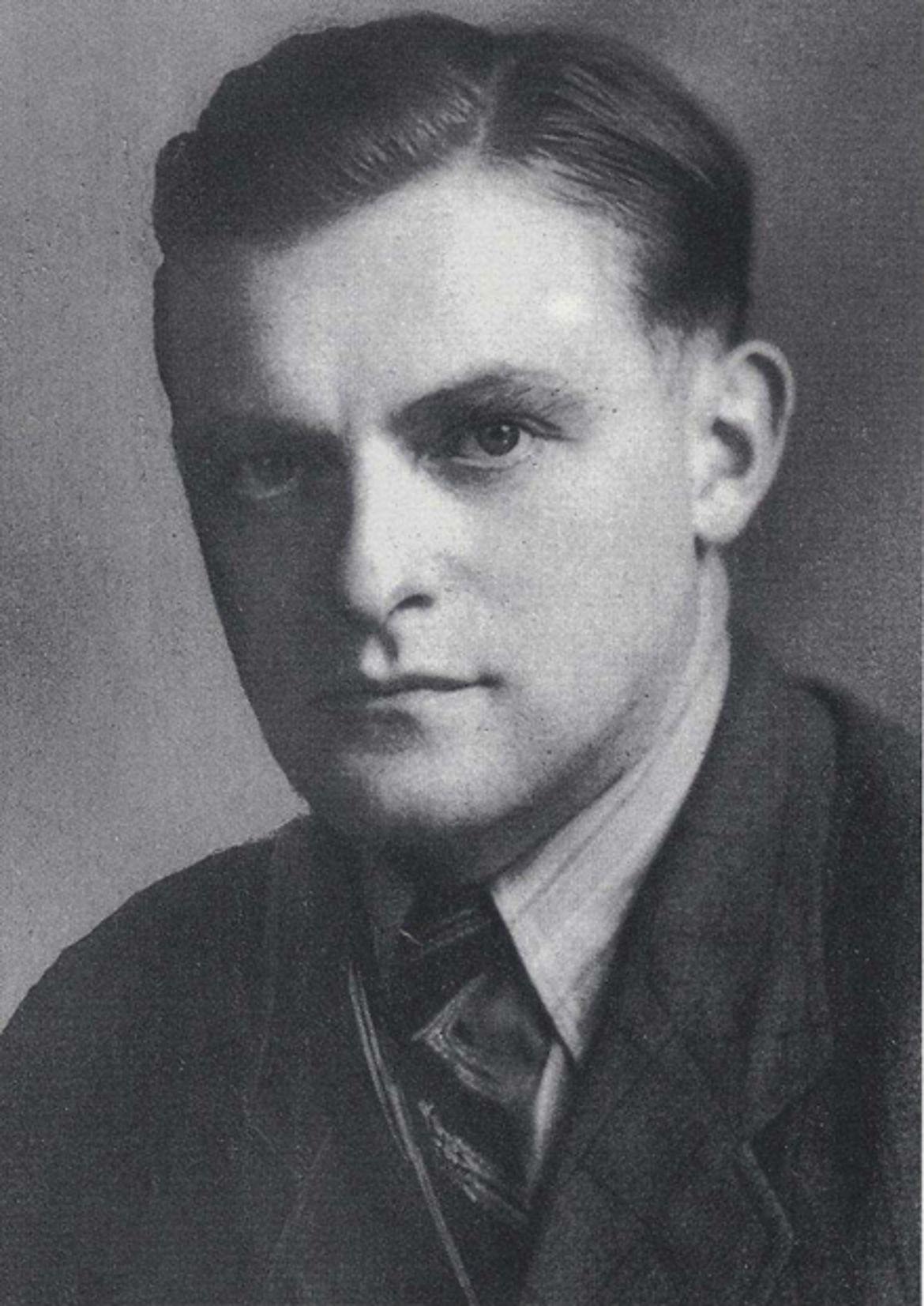 Franz Josef Strauß als Landrat in Schongau 1946