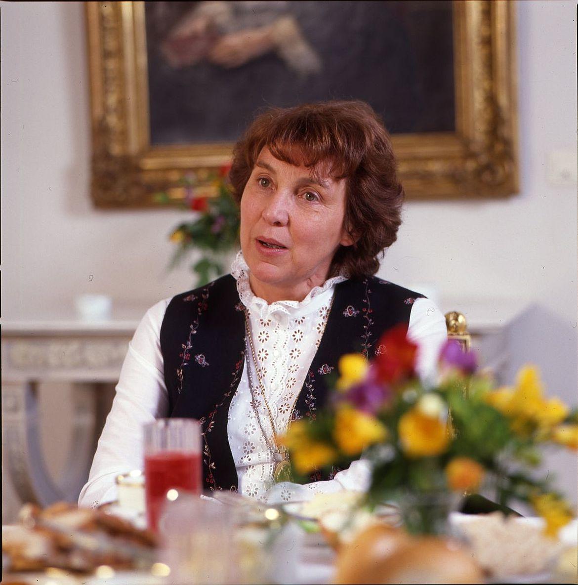 Marianne Strauß in den 1980er-Jahren