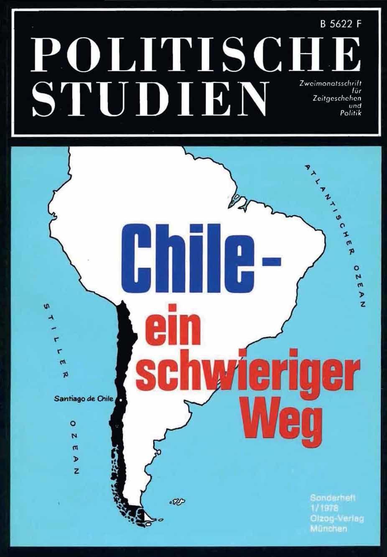 Politische Studien, Sonderheft 1/1978: Chile - ein schwieriger Weg