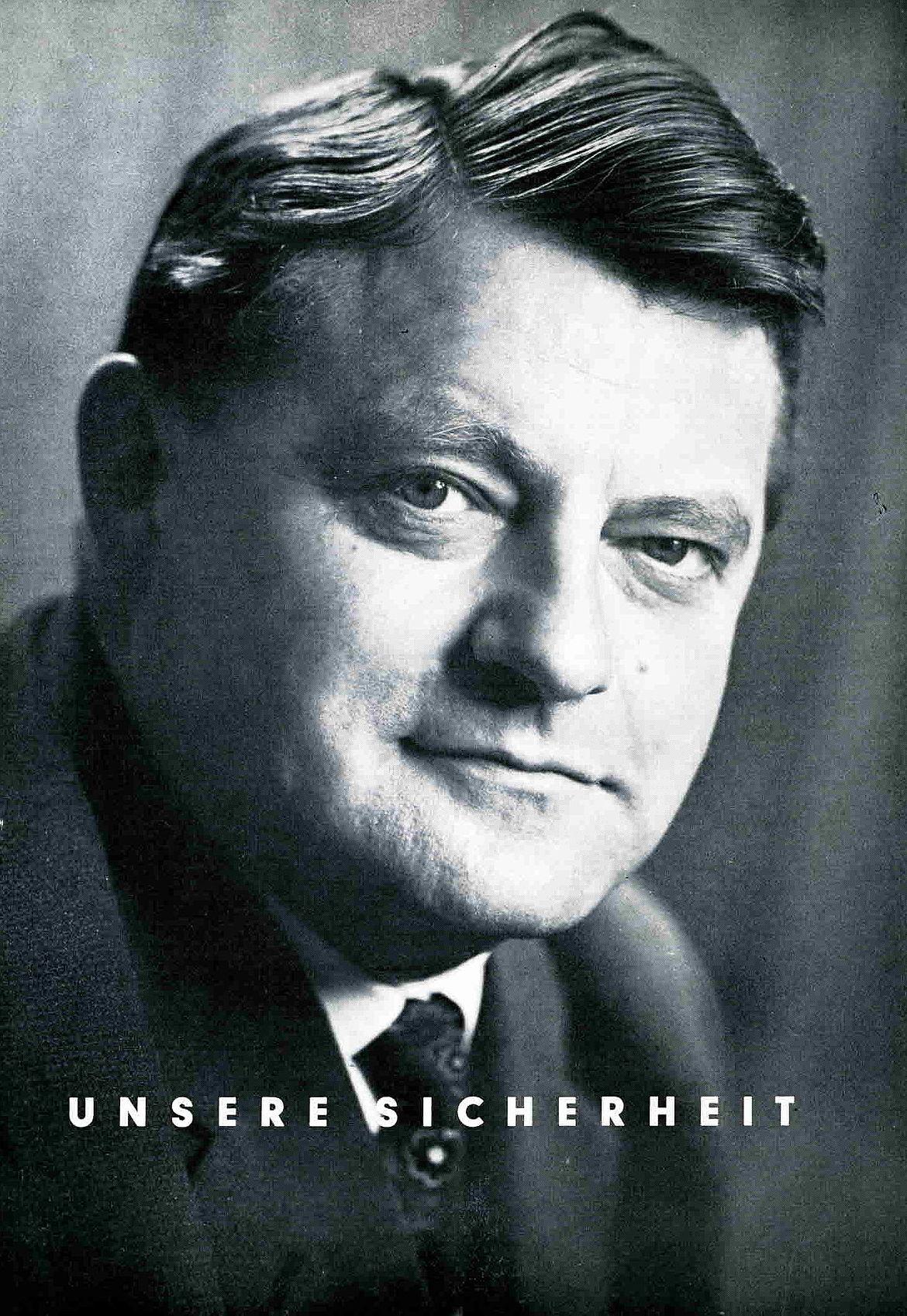Titelblatt des Kandidatenbriefs anlässlich der Bundestagswahl 1965
