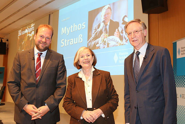 Andreas Bachmann, Ursula Männle, Werner Blessing