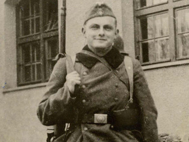 Als Soldat in Landsberg am Lech 1939