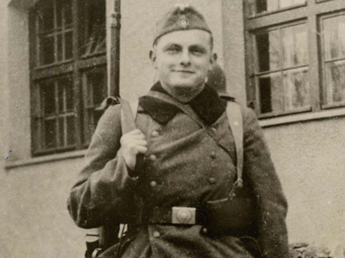 Als Soldat in Landsberg am Lech 1939
