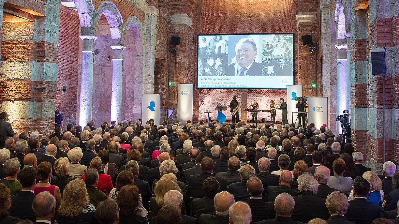 Gedenkfeier der Hanns-Seidel-Stiftung zum 100. Geburtstag in der Allerheiligen-Hofkirche in der Münchner Residenz am 04.09.2015