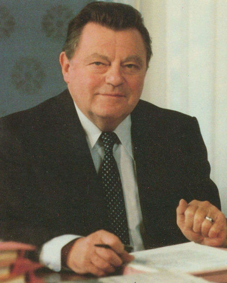 Porträts des bayerischen Ministerpräsidenten Franz Josef Strauß im Prinz-Carl-Palais 1979