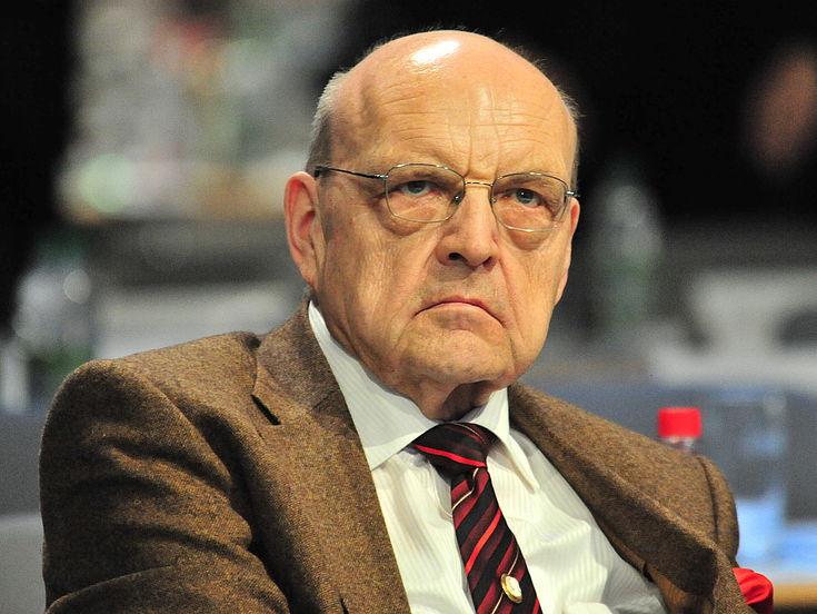 Wilfried Scharnagl auf dem CSU-Parteitag 2010 in München