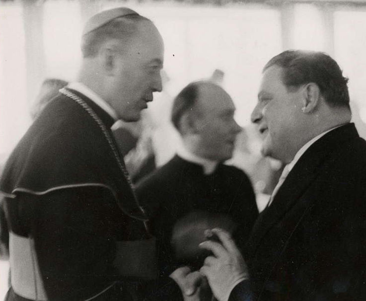 Im Gespräch mit Josef Kardinal Wendel in den fünfziger Jahren