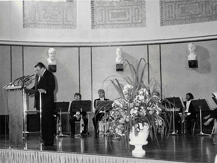 Anlässlich der Verleihung der Ehrendoktorwürde der Ludwig-Maximilians-Universität München am 13. Juli 1985