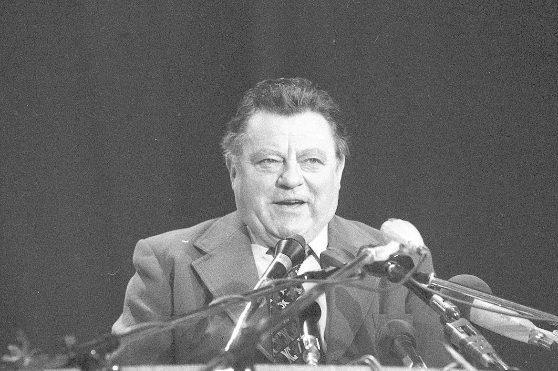 """CSU-Wahlveranstaltung """"Mit uns für Deutschland"""" zur Bundestagswahl 1976"""