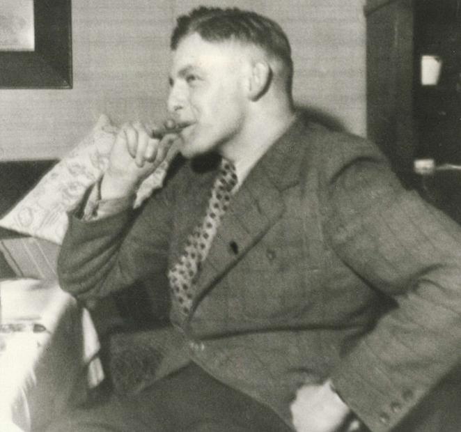 Als Student 1940