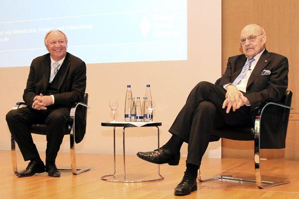 Hans-Peter Niedermeier und Wilfried Scharnagl